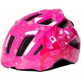Cube Fink Helmet Kinder pink